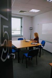 Berlitz Sofia's study room