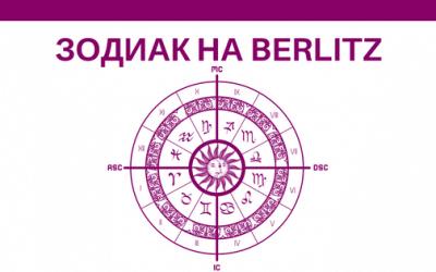 Зодиак – хороскоп на обученията според Berlitz