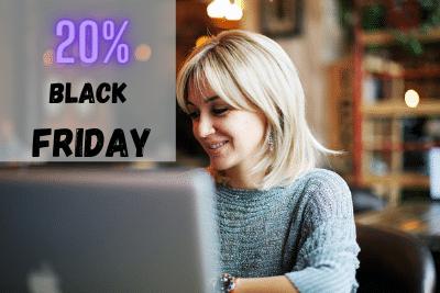 Black Friday – поръчайте онлайн самообучение с 20% отстъпка